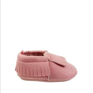 Shoes - Baby girl toddler pink moccasins